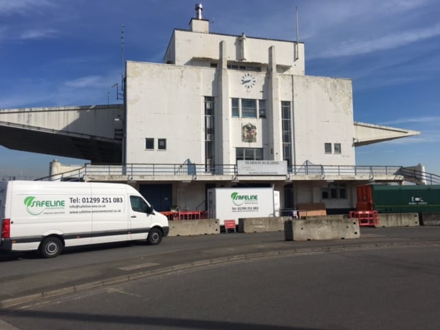 Our vans will safely and professionally remove asbestos from anywhere within the UK mainland